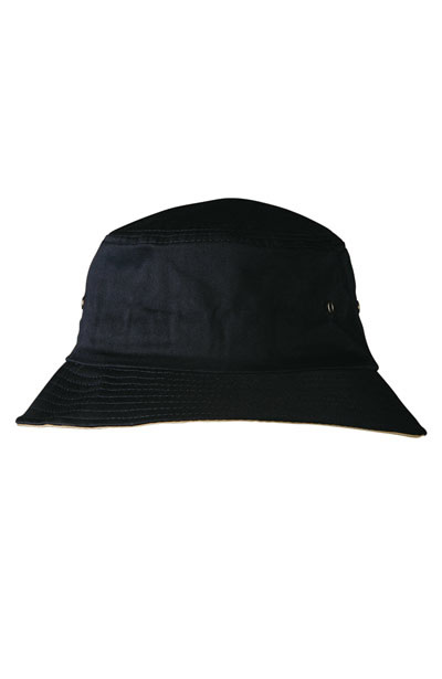 CH32A UPF Enzyme Washed With Contrasting Underbrim Bucket HAT