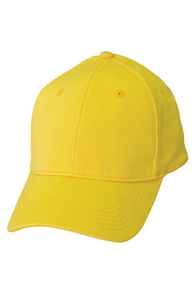 CH36 Heavy Unbrushed Cotton Fitted Cap