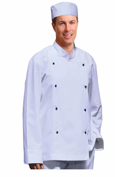 CJ01 Traditional Chef's Jacket Long Sleeve