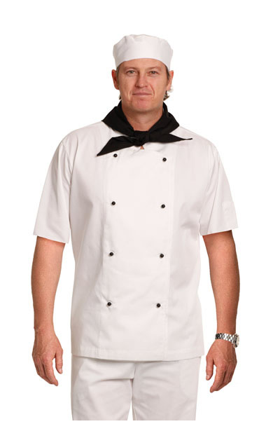 CJ02 Traditional Chefs Short Sleeve Jacket