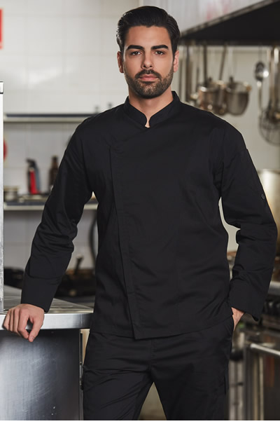 CJ03 Mens Functional Chef Jacket