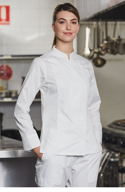 CJ04 Ladies Functional Chef Jacket