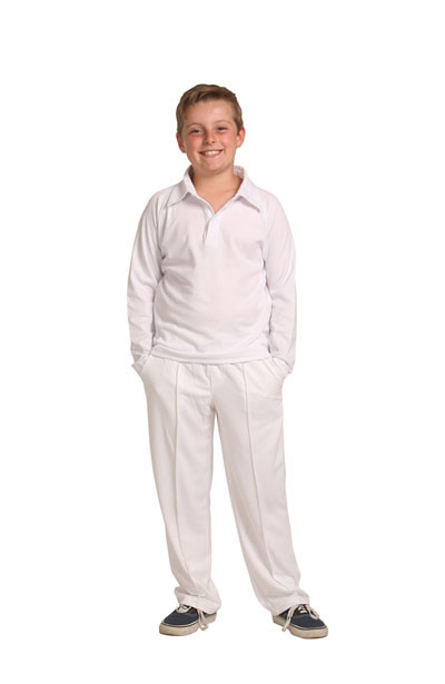 CP29K Kids CoolDry Polyester Cricket Pants