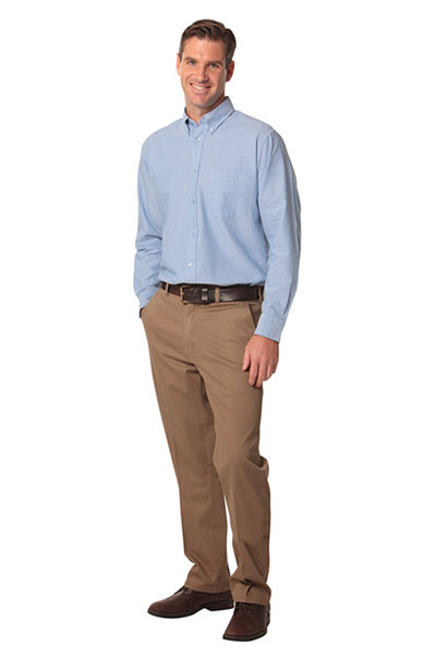 Chinos also come in a wide range of colors, which is great if you're like me and like to buy multiples pairs of pants once you find a brand and style you really like.