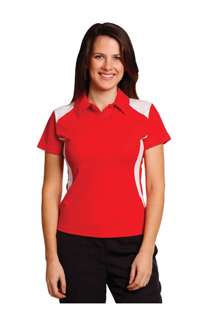 PS32A Ladies TrueDry Contrast Short Sleeve Polo