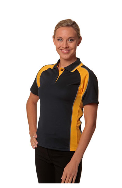PS50 Mascot Ladies CoolDry Short Sleeve Contrast Polo