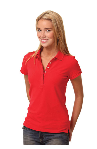 PS64 Ladies TrueDry Solid Colour Pique Polo