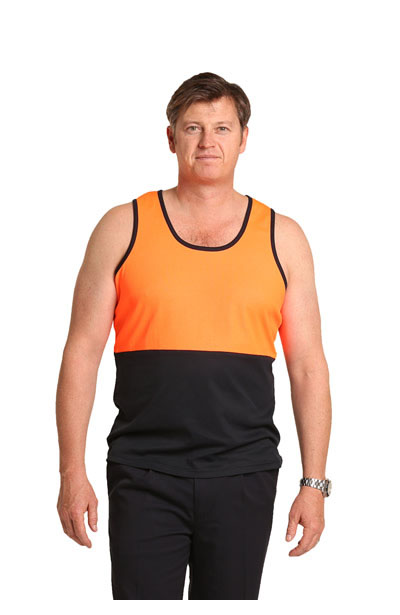 SW15 High Visibility TrueDry Mesh Knit Safety Singlet