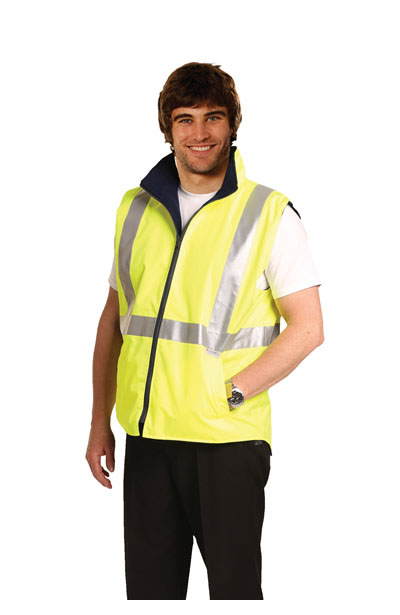 SW19A High Visibility Two Tone Vest With 3M Reflective Tapes