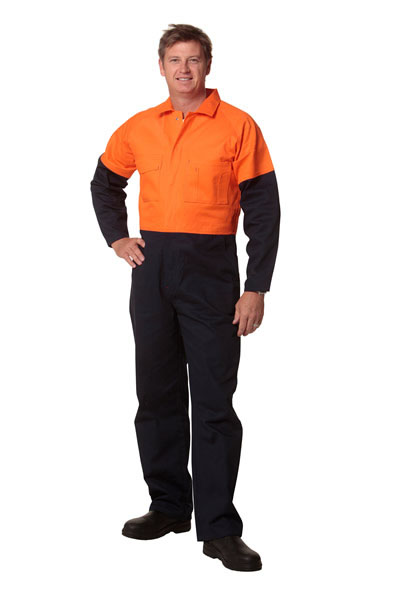 SW204 Men's Two Tone Coverall - Regular