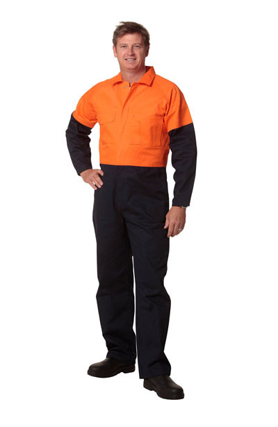 SW205 Men's Two Tone Coverall - Stout