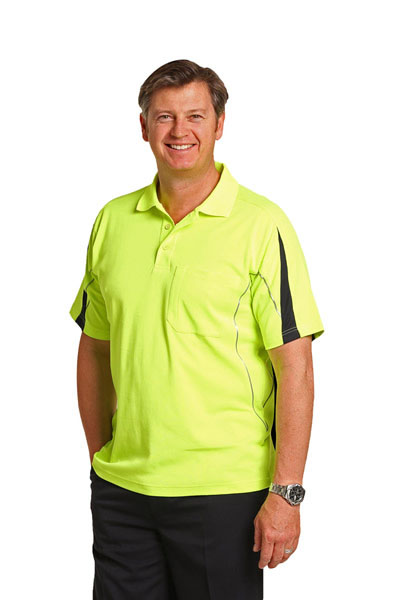SW25A Hi-Vis Legend Short Sleeve Polo Men's