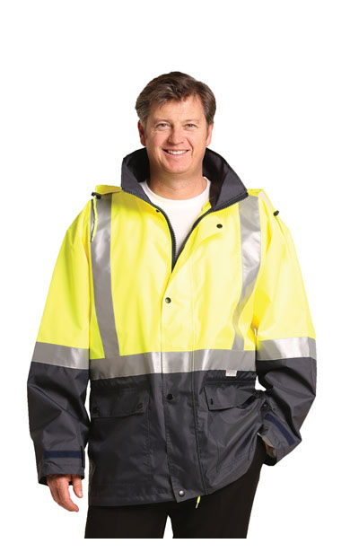 SW28A High Visibility Two Tone Jacket with Quilt Lining and 3M Tapes
