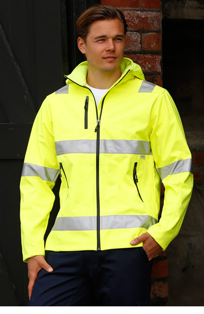 SW30 Hi-Vis Safety Jacket - Unisex