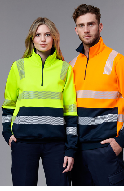 SW32 Vic Rail Hi Vis Safety Jumper- Unisex