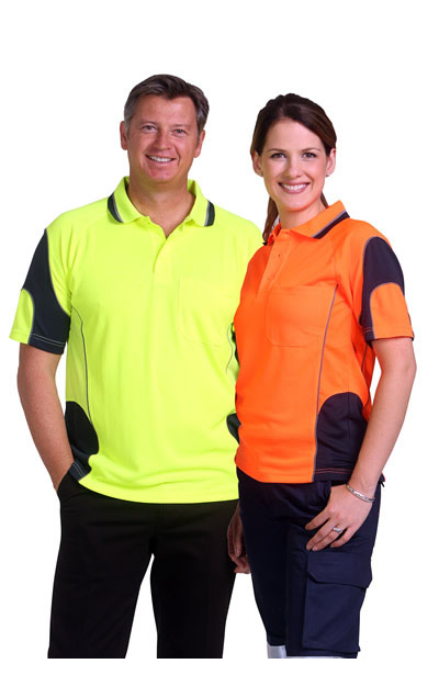 SW71 Alliance Short Sleeve Safety Polo - Unisex