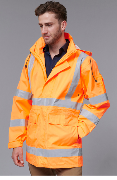 SW75 VIC Rail Hi Vis Safety Jacket - Unisex