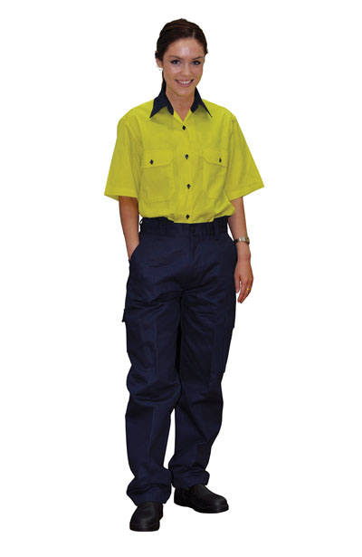 WP15 Ladies Heavy Cotton Pre-shrunk Drill Pants