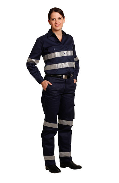 WP15HV Ladies' Heavy Cotton Pre-shrunk Drill Pants